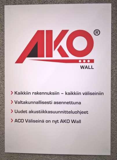 AKO Wall-kaikkiin rakennuksiin